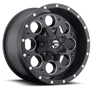 Fuel Wheels D525 Revolver Black Milled (D525)