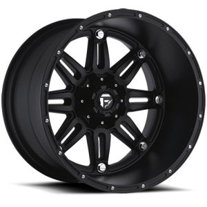Fuel Wheels D531 Hostage Black Matte (D531)