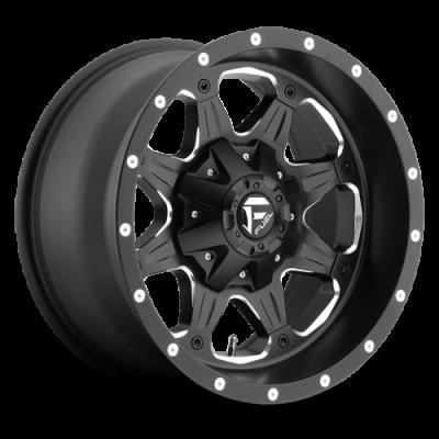 Fuel Wheels D534 Boost Black Milled (D534)