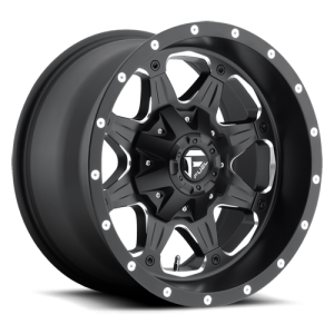 Fuel Wheels D534 Boost Black Milled (D534)