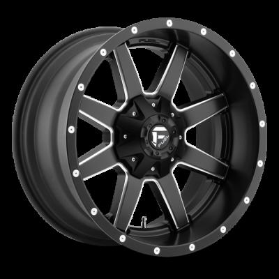 Fuel Wheels D538 Maverick Black Milled (D538)
