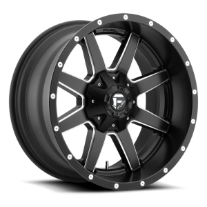 Fuel Wheels D538 Maverick Black Milled (D538)