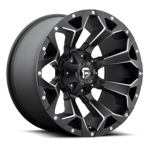 Fuel Wheels D546 Assault Black Milled (D546)