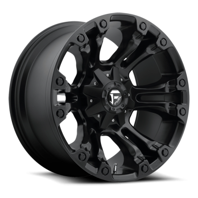 Fuel Wheels D560 Vapor Black Matte (D560)