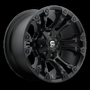 Fuel Wheels D560 Vapor Black Matte (D560)