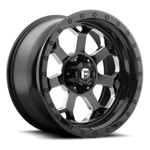 Fuel Wheels D563 Savage Black Milled (D563)