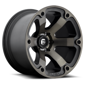 Fuel Wheels D564 Beast Black Mach DDT (D564)