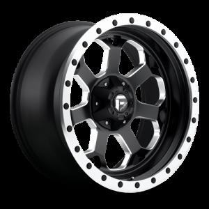 Fuel Wheels D565 Savage Black Milled (D565)