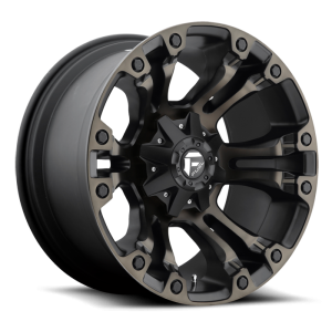 Fuel Wheels D569 Vapor Black Mach DDT (D569)