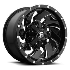 Fuel Wheels D574 Cleaver Black Milled (D574)