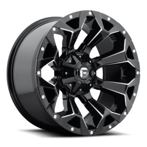 Fuel Wheels D576 Assault Black Gloss (D576)