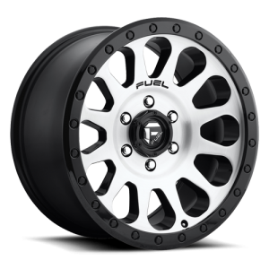 Fuel Wheels D580 Vector Black Machined (D580)