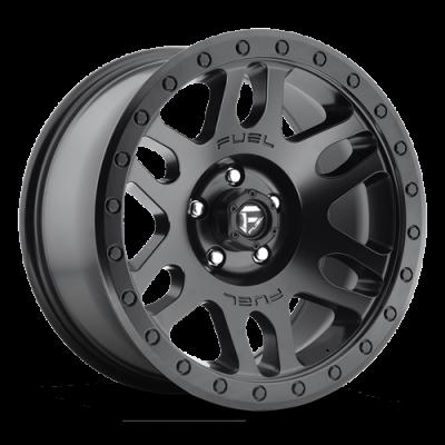 Fuel Wheels D584 Recoil Black Matte (D584)