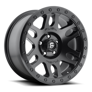 Fuel Wheels D584 Recoil Black Matte (D584)