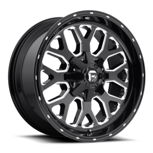 Fuel Wheels D588 Titan Black Milled (D588)