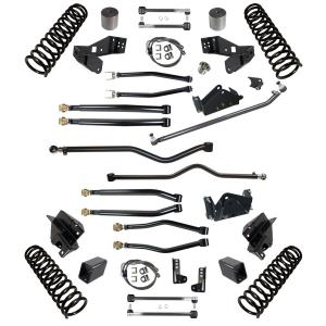 Synergy Jeep JK Stage 4 Long Arm Suspension System, 4/4.5 Lift (SYN-STG4-4IN)