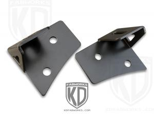 KD Fabworks 07-15 JK Lower A-Pillar Light Mounts (JK-0001)