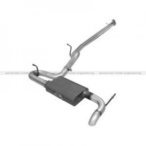 aFe Power Scorpion Exhaust System; 2-1/2 Cat-Back Aluminized Hi-Tuck (49-08042)