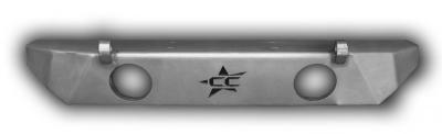 Crawler Conceptz Skinny Series Front Bumper with Fogs (sb-fog)