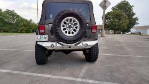 Crawler Conceptz Ultra Series Mid Width Rear Bumper with Tabs (us-fwr)