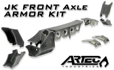 Artec Industries JK Front Axle Armor Kit (ARTFAAK)