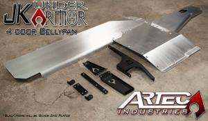 Artec Industries JK Under Armor 4 Door Bellypan Kit (ARTJKUABK)