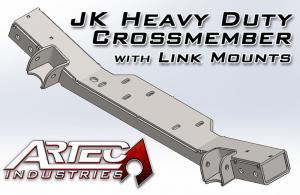Artec Industries JK HD Crossmember with Link Mounts (ARTJKHDCMLM)