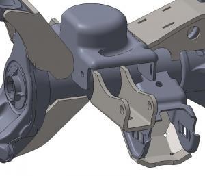 Artec Industries JK Front Shock Mounts (JK4413)