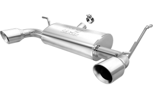 MagnaFlow 07-16 2-4dr JK MF Series 2.5in Axle Back Dual Outlet Polished Tip Stainless Exhaust (15178)