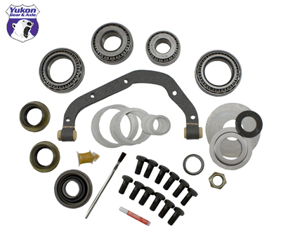 Yukon Gear 07+ JK Non Rubicon Front Master Overhaul Kit for Dana 30 Reverse Rotation Differential (YK D30-JK)