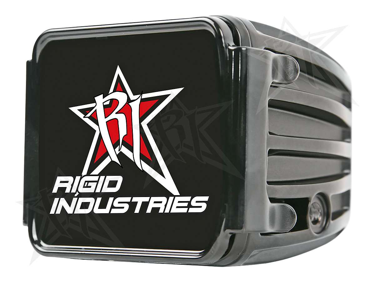 Rigid Industries 20195 Red Protective Polycarbonate Light Cover