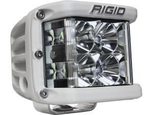Rigid Industries D-SS White Finish Single LED Light