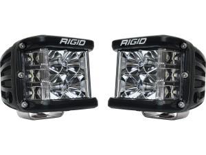 Rigid Industries D-SS Black Finish Dual LED Lights