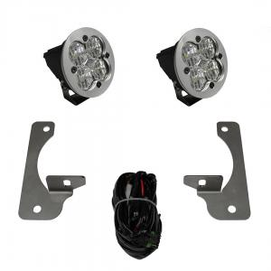 Baja Designs Squadron-R Sport LED JK Rubicon X/10th Anne/Hard Rock Fog Pocket Kit (587523)