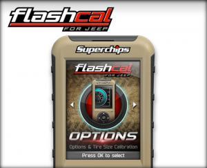 Superchips 07-16 Jeep Wrangler JK Flashcal F5 3571 (3751)