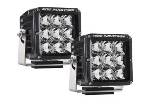 Rigid Industries Dually XL LED Light Pair flood pattern