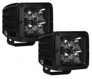 Rigid Industries Dually LED Light Pair Midnight Edition (20221BLK)