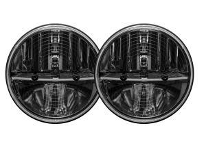 Rigid 7 Round Heated Lens pair w/PWM Adaptor (55004)