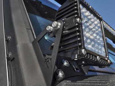 Rigid 2007-2015 Jeep JK Q-Series A-Pillar Mount Kit (46502)