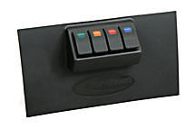 Daystar Jeep JK Wrangler 07-10 Switch Panel (KJ71040BK)