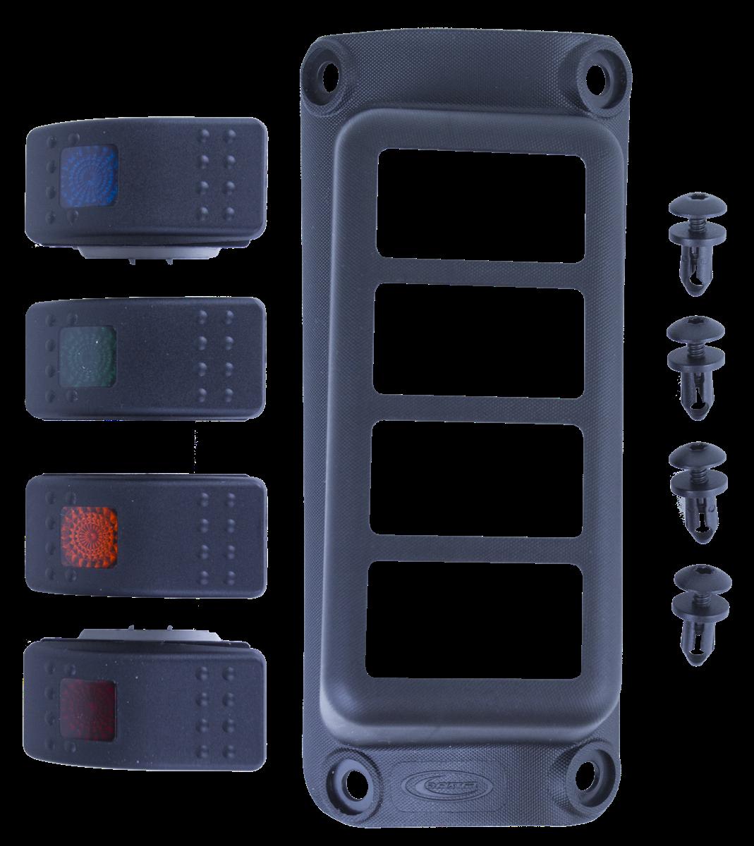 Daystar Jeep Jk Wrangler 07 16 A Pillar Switch Panel Gauge Pod