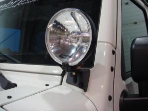 MBRP 07-16 Jeep JK Windsheild Light Bracket (130719)