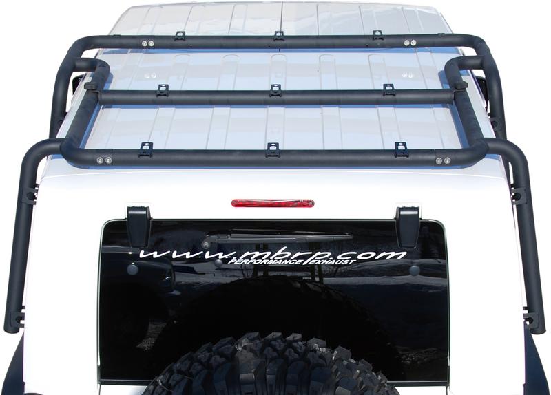 Mbrp 07 10 Jeep Jk Roof Rack System 4 Door