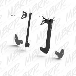 MBRP 07-15 Jeep JK Formed Windshield Dual Light Kit - 50inch Light (182760)
