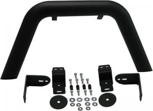 MBRP 07-16 Jeep JK Front Stubby Winch Bumper Package. LINE-X coated (131175LX)