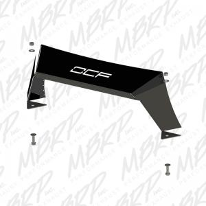 MBRP 07-15 Jeep JK Front Full Width Winch Bumper Pkg with Formed Light Bar (182940)