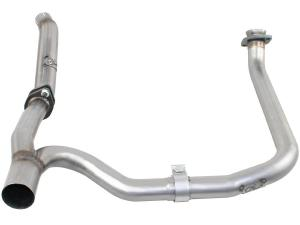 aFe Power MACHForce XP Loop Delete DP & Y-Pipe SS-409 Exhaust 3.6L (4 Dr) (49-46217)