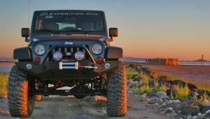Expedition One Jeep JK Trail Series Full Width Front Bumper (JK_FB100)