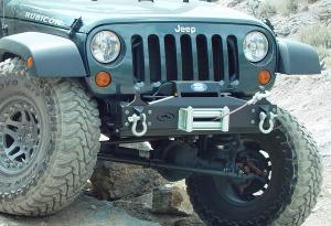 Expedition One Jeep JK Basic DX Front Bumper (JKFBDX)