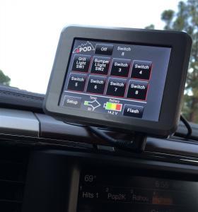 sPOD 07-16 Jeep JK 8 Circuit SE System wTouchscreen (8-700-TS-JK)